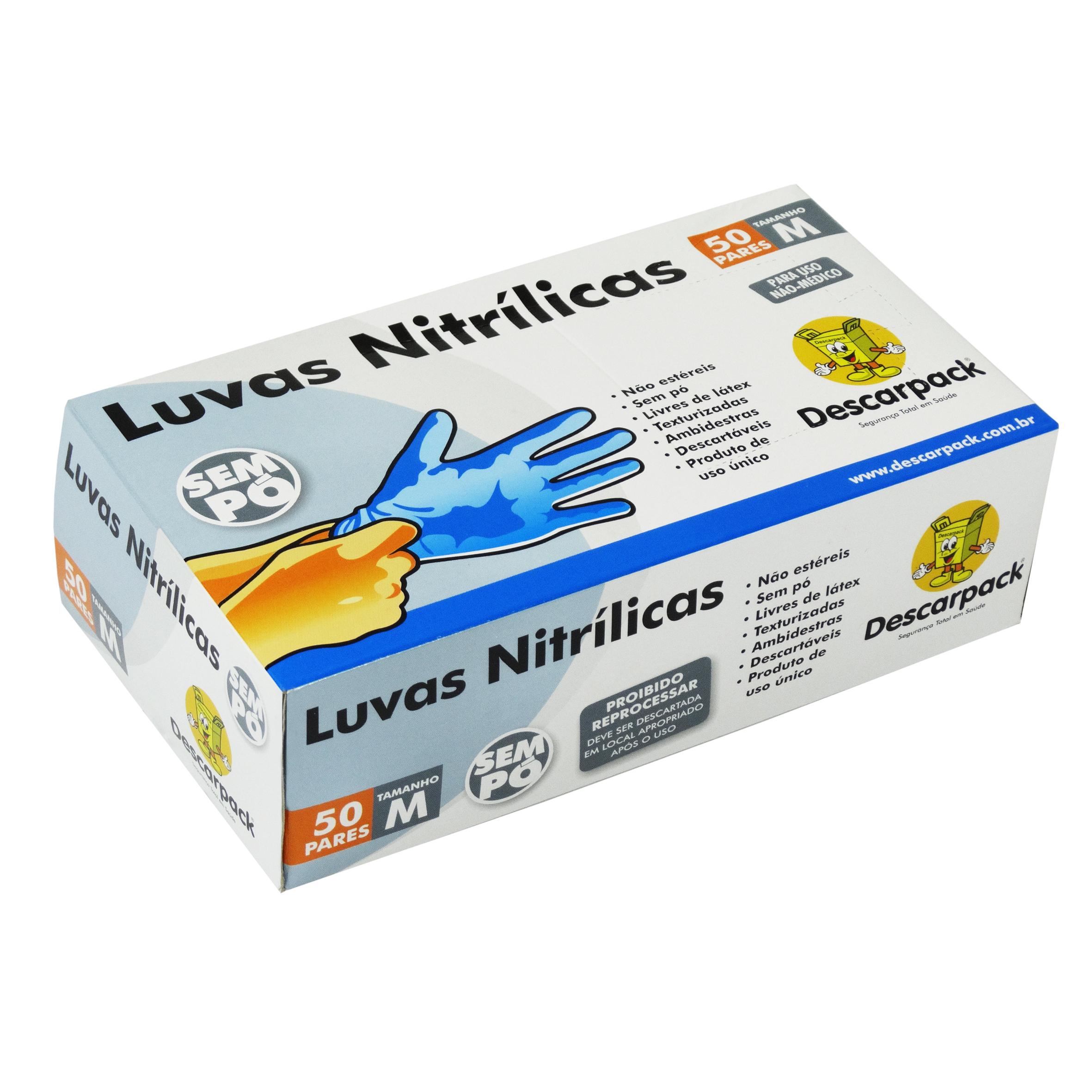 7a9fdc75367a6 Luvas Costamed - Luvas nítrilica
